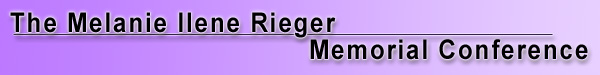 The Melanie Rieger Conference